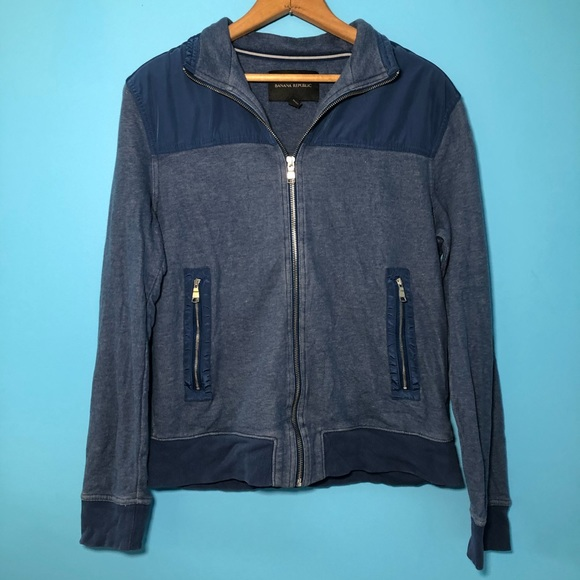 Banana Republic Other - Banana Republic Blue Jacket Zip Up Casual